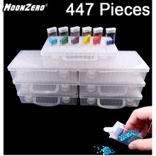 New Diamond embroidery diamond painting tool! Daimond transparent plastic storage box, jewelry Drill Storage Box Gift t k excellent practical tool box screws storage black simple portable tool storage box self tapping screws device plastic 1pcs