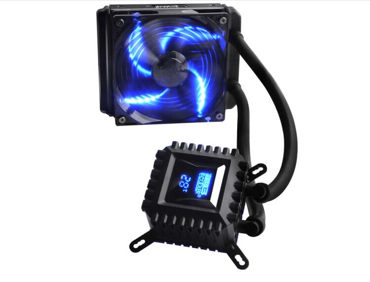 PCCOOLER Core frozen 120 cpu water cooled radiator (cpu cooling fan 12cm) free delivery original afb1212she 12v 1 60a 12cm 12038 3 wire cooling fan r00