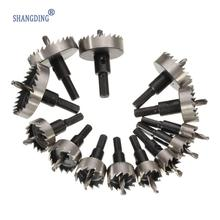 High Quality 13Pcs/Set Tooth Kit 16-53mm Drill Bit Hole Saw Set Stainless Steel Metal Alloy Best Price