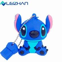 LEIZHAN cartoon USB flash drive pendrive 64GB 32GB 16GB 8GB plate stitch pen drive usb stick memory stick Wholesale U disk