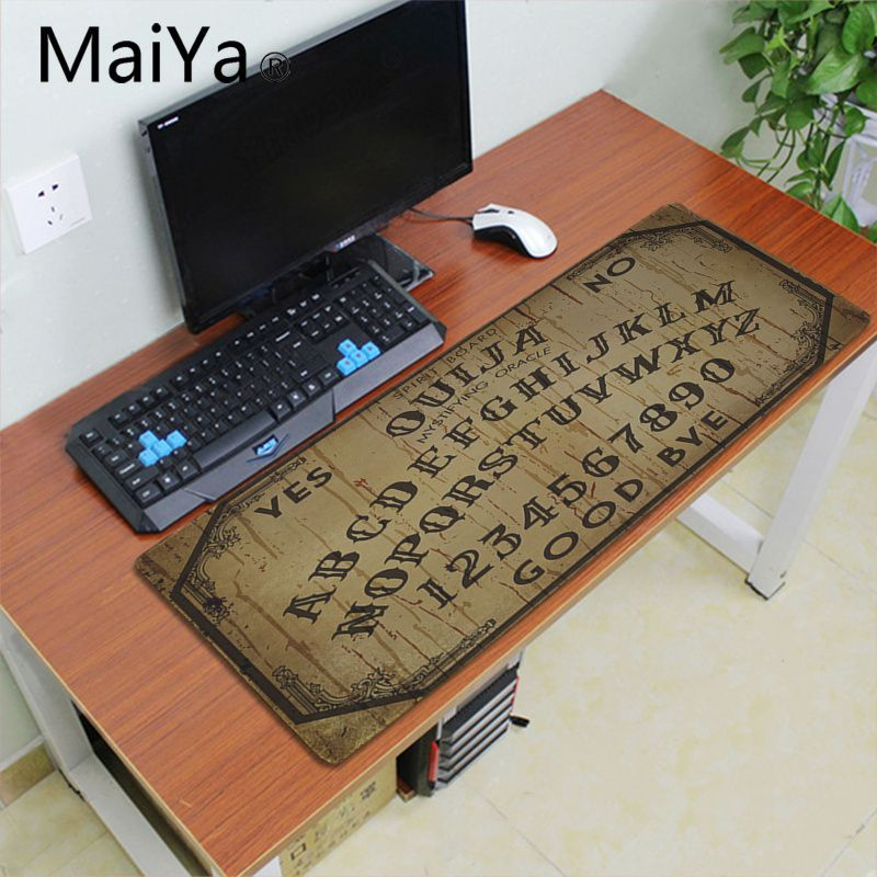 ALI shop ...  ... 33002506248 ... 4 ... Maiyaca Ouija Board Rubber Mouse Durable Desktop Mousepad 700*300mm gaming mouse pad Speed Keyboard Mouse mat Laptop desk pad ...