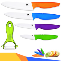 High End Ceramic Knives New Arrival Kitchen Knives Multi Color XYJ Brand Cooking Knives Zirconia ABS