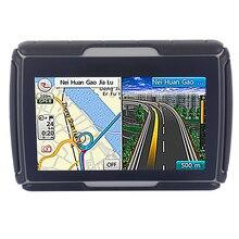 8 ГБ и fm! Цвет черный 4.3 » водонепроницаемый IPX7 Bluetooth GPS навигатор для мотоцикла + 4 ГБ флэш + множество профессиональных картами стран