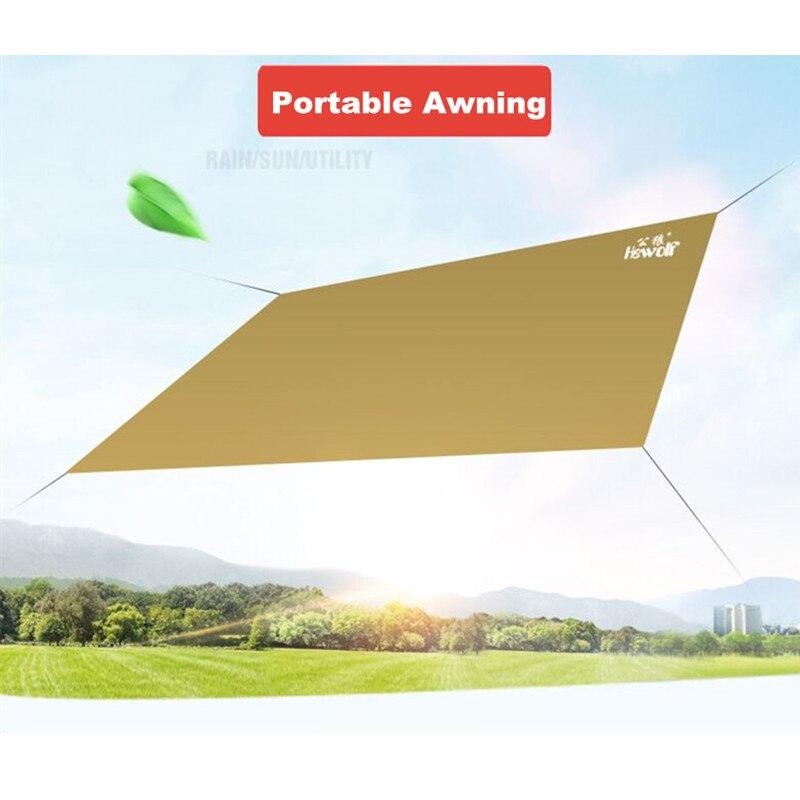 HEWOLF Sun markiza parasolka baldachim Sun Beach Parking