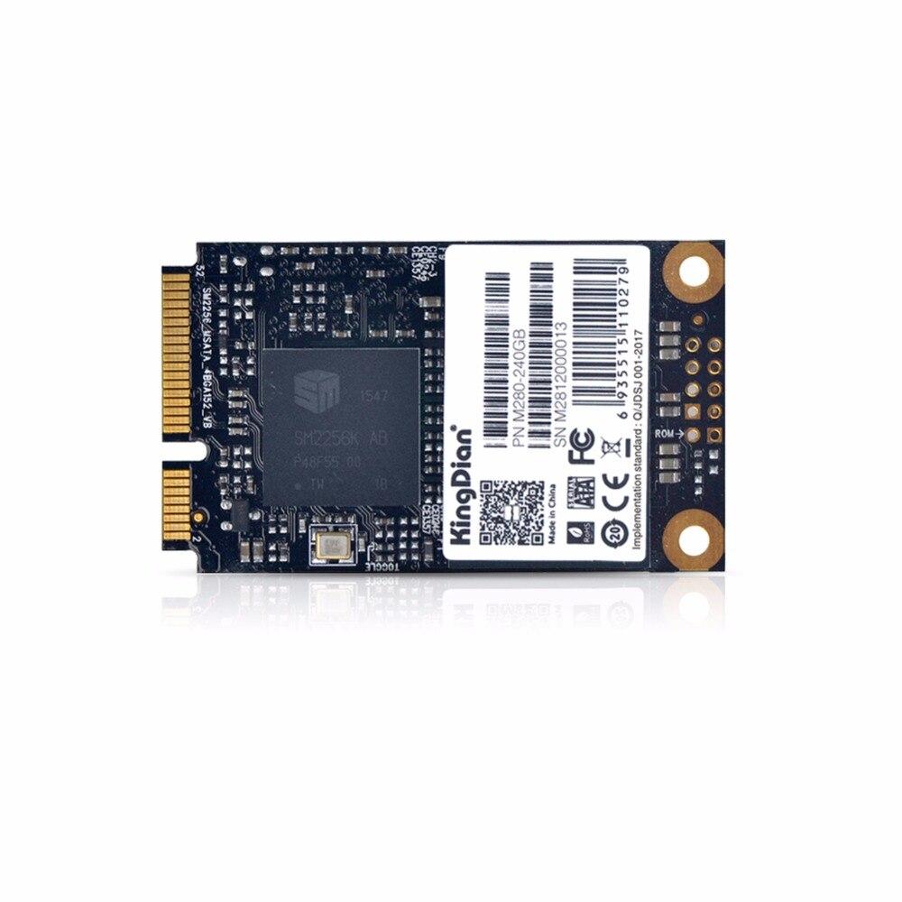 (M280-240GB) Kingdian marca 430/393 MB/S más alto rendimiento SSD mSATA SSD 256G 240 GB