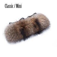 Der waschbär Pelz Trimmt für Klassischen großen Mini Obag stil AMbag plüsch dekoration plüsch O tasche plüsch accesory