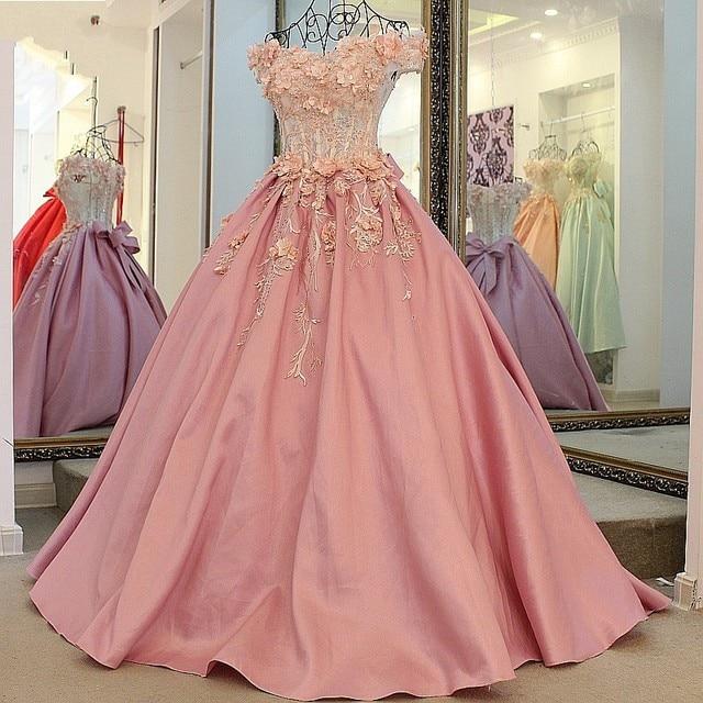 Fashion Bateau Short Sleeve Floor Length Chapel Train Dress Pale