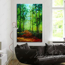 Hand painted Canvas Oil painting Wall Pictures for Living room wall decor art canvas painting palette knife landscape 11