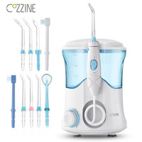 600ml COZZINE Dental Flosser Oral Irrigator Water Flosser Water Floss Tooth Pick Teeth Cleaner Oral Hygiene Irrigation Jet FC169