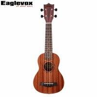 21 Inch Soprano Ukulele 15 Fret Rosewood Fingerboard Sapele Top Back Side Mahogany Neck U1 21