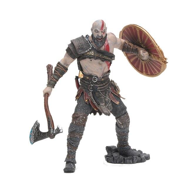 Jogo NECA God of War 4 Kratos 20 cm PVC Action Figure Collectible Modelo Brinquedos para Presente