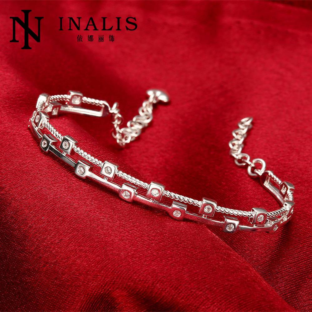Wholesale Price 925 Silver Bracelet Charming Cz Women S Bracelets