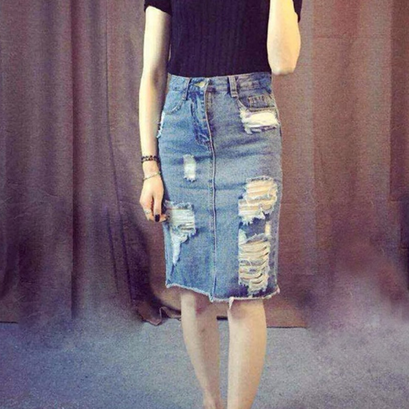 Denim Skirts Juniors Promotion-Shop for Promotional Denim Skirts ...
