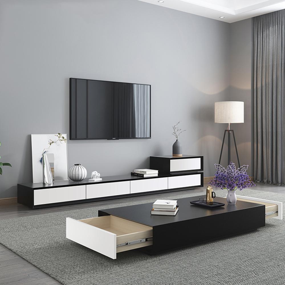 support tv mat en bois pour tv led meuble tv moderne pour salon meuble tv table basse centro armoire