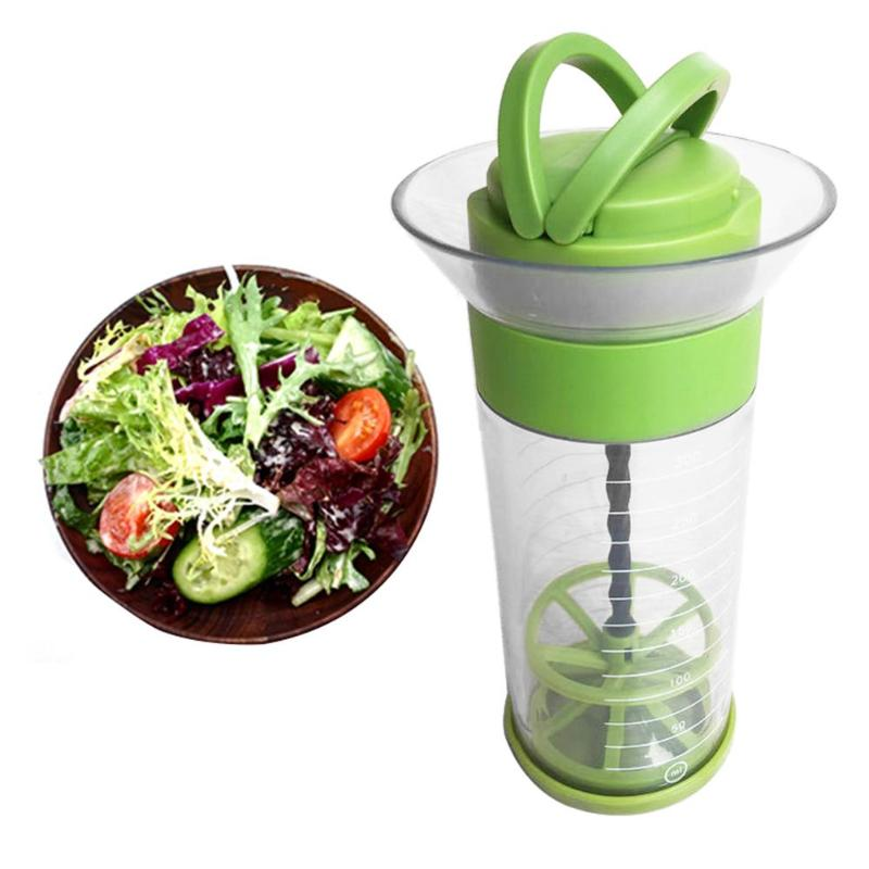 VKTECH Safety and non-toxicity Removable Salad Serving Cup Sauce Ketchup Jam Bowl Dressing Container Kitchen Food Storage Tool image