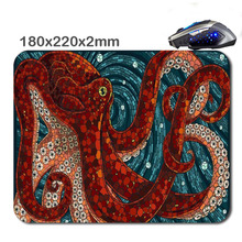 Octopus Abstract Painting Art 3D Printing Used For Home And Office Computer And Laptop Gaming Rubber Mouse Pad 180X220X2cm