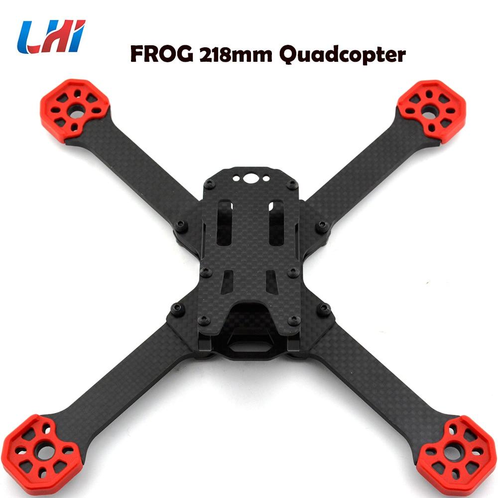 TransTEC Frog Lite Frame Aluminum Mini 218mm X Quadcopter Frame Kit for DIY RC FPV Racing