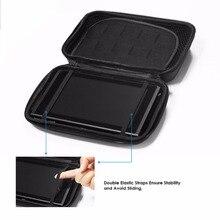 GameSir W60S107 Essentials Storage Case, Switch Essentials Travel Pack, EVA Hardshell Carrying Case for Nintendo Switch, Black