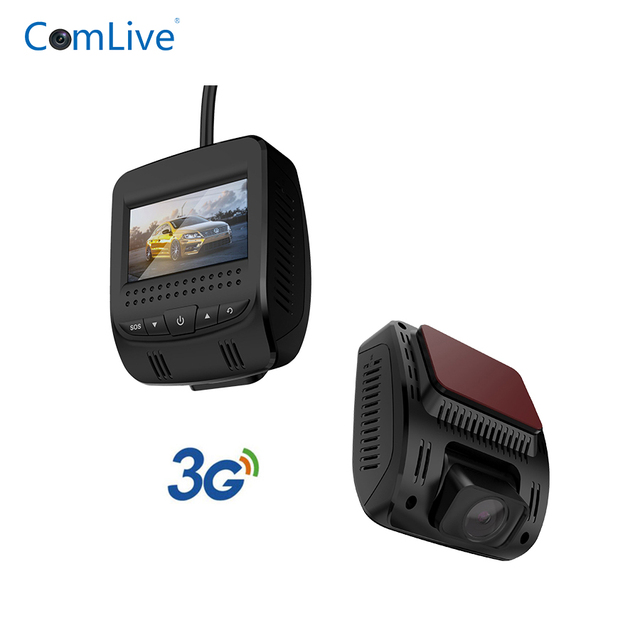 Camlive factory T9 3G dash camera dual cams HD1080P remote monitor WIFI hotspot WDR dash car camera RAM512MB ROM4GB