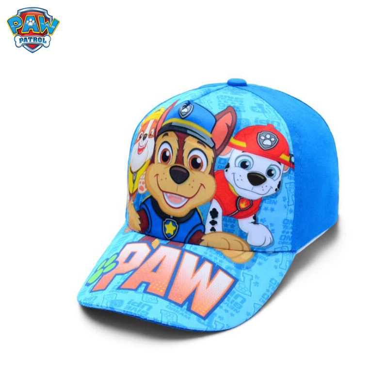 Casquette de Baseball inspirée du dessin animé Pat'patrouille pour enfant, chapeau mignon et confortable en coton, nouveau modèle, jouet pour les enfants à offrir, offre spéciale
