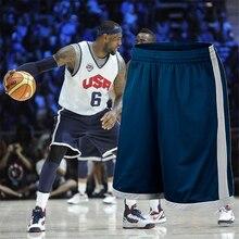 Мужские баскетбольные спортивные шорты для тренировок, быстросохнущие шорты для фитнеса и бега, шорты для баскетбола размера плюс