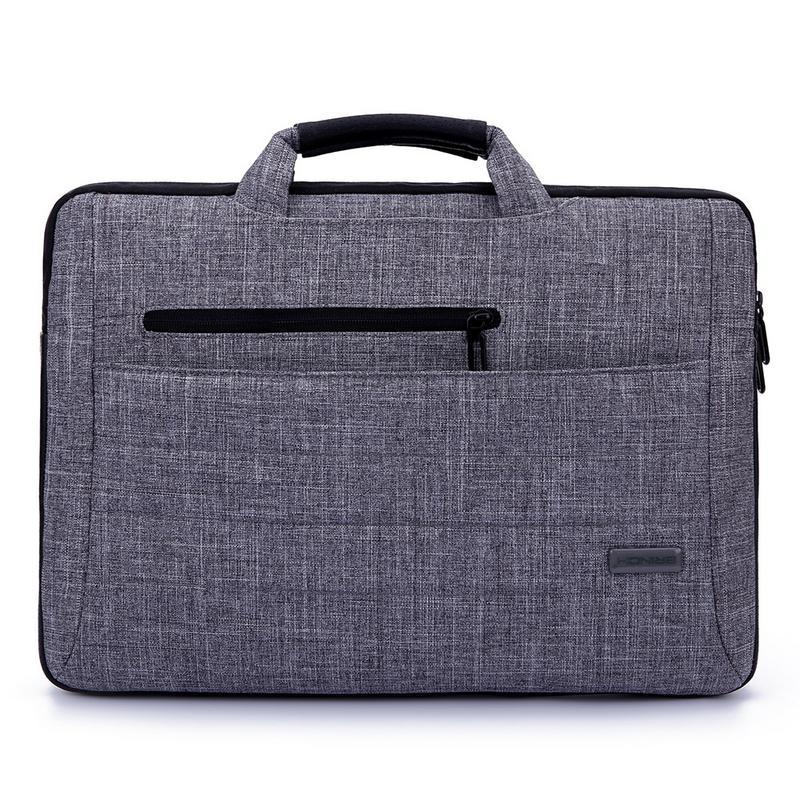 15.6 Inches briefcase Laptop Bag Handbag Single Shoulder Messenger Computer Women Male Office Simple Fashion satchel laptop Bags