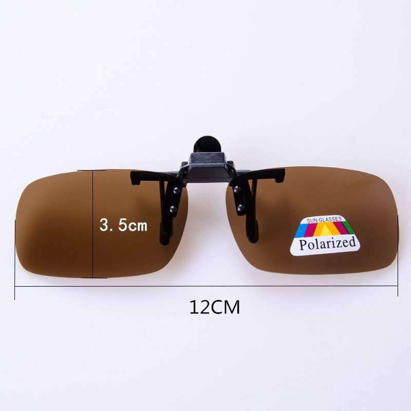 f17584ed6f Super Light Polarized Sunglasses Clip on Yellow Night Vision Glasses Unisex  Eyeglasses UV Deep Green Lens Aviate Drive Goggles-in Glasses Case from ...