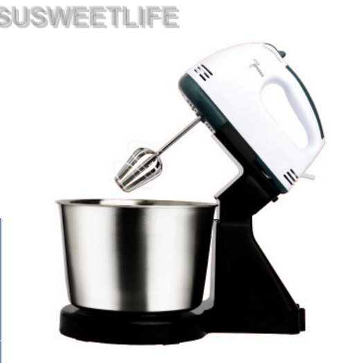 SUSWEETLIFE Table Electric Food Mixer mini desktop 7 Speeds Automatic Eggs Beater handheld butter Blender Baking Whipping cream