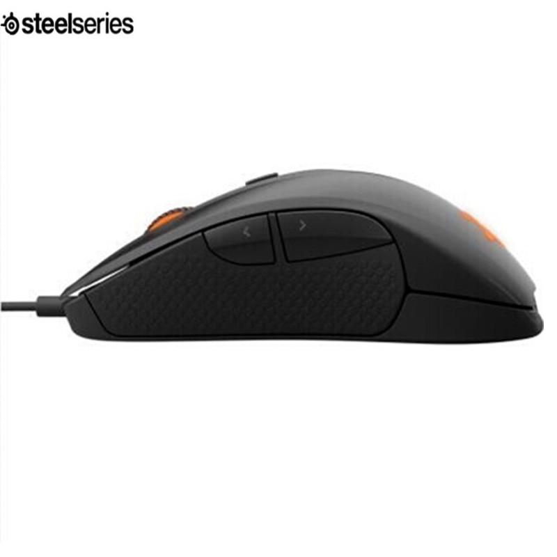 Nouvelle marque Steelseries Rival 300, souris USB 6500 DPI réglable souris d'ordinateur USB souris de jeu optique