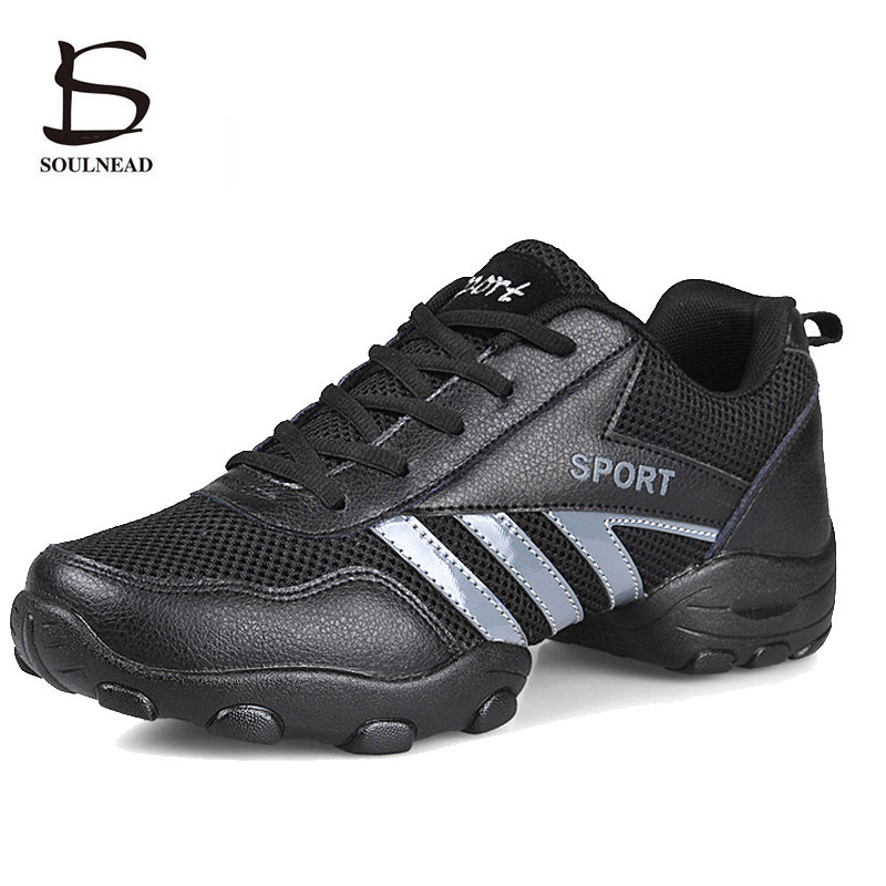 Mens Dance Shoes Mesh Breathable Non-slip Comfortable Sneakers Boys Modern Jazz Dancing Shoes  Outdoor Sports Shoes Male 39-44Mens Dance Shoes Mesh Breathable Non-slip Comfortable Sneakers Boys Modern Jazz Dancing Shoes  Outdoor Sports Shoes Male 39-44