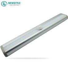 SMD3528 LED Sensor Light IR Infrared Motion Detector Night Light Lamp Closet Cabinet  Lamp Wireless Using AAA battery lights