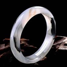 Натуральный высокого лед чернил халцедон Агат браслет