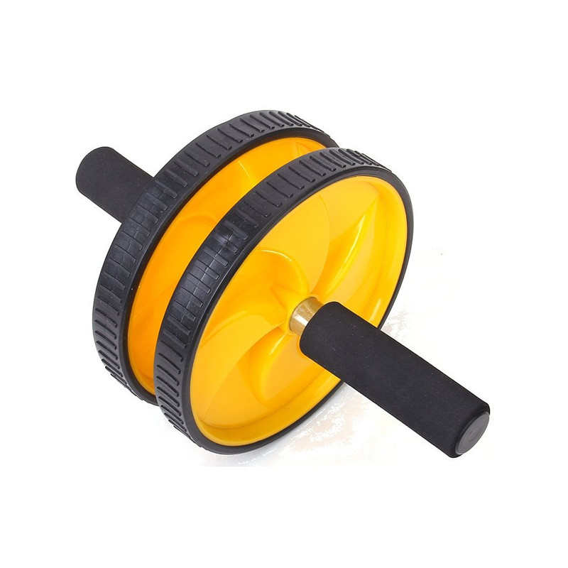 Personalized Pro Gym Ab Roller High Quality Dual Wheel Abdominal Fitness Workout Exercise Abs Wheels