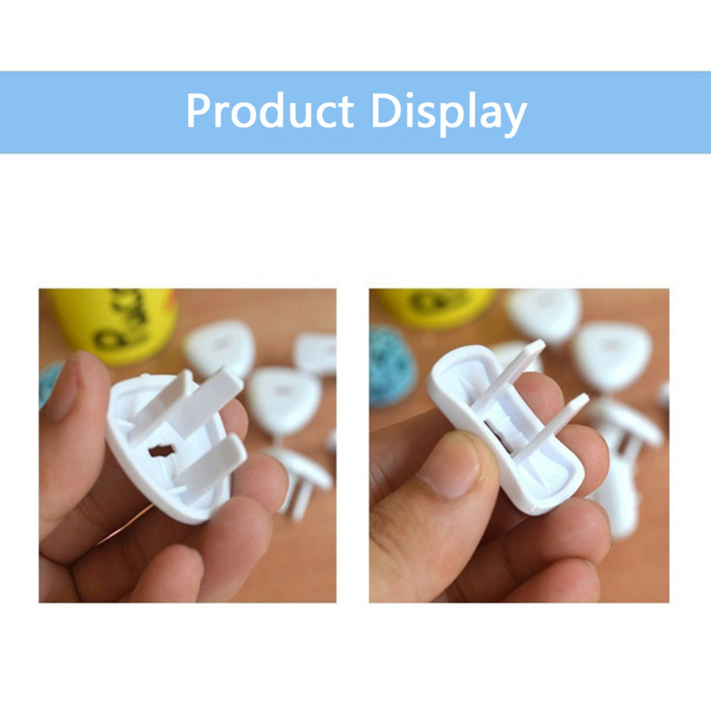 New 10 Pcs Sockets Cover Plugs Baby Electric Sockets Outlet Plug Kids Against Electrical Safety Protector Protection Caps