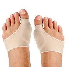 1 זוג פיקה ג ל שרוול בוהן Valgus מכשיר רגל כאב להקל על רגל לטפל עקבים מדרסי מדרסי הבוהן תיקון