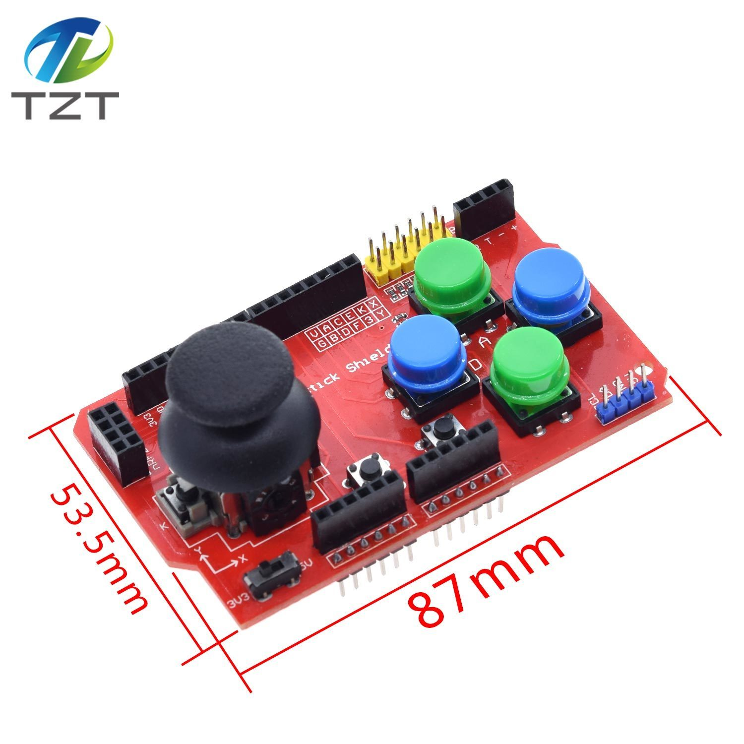 HOT SALE] Joystick Shield for Arduino Expansion Board Analog