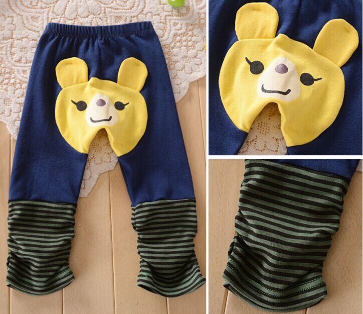 Fall-Kids-Toddler-Boy-Girl-Baby-Leggings-Big-PP-harem-Pants-busha-Cotton-Trousers-animal-bear-cartoon-pant-for-children-Infant-5