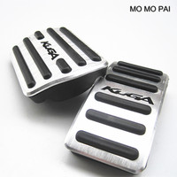 car styling auto Gas pedal brake pedal Foot Pedals Pads Fit For AT Ford Kuga 2013 2015 2pcs / set