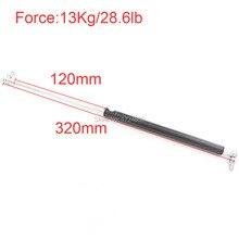 Gas Spring 13KG/28.6lb Force 120mm *320mm Gas Spring Damper for Furniture Car 120mm Stroke Gas Strut Door 320mm Central Distance