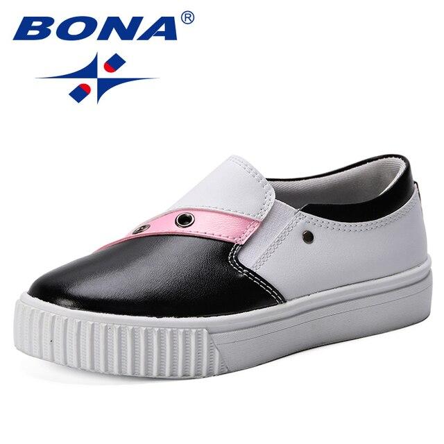 Фото bona/новая дизайнерская модная детская повседневная обувь; мягкие