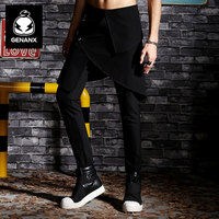 Genanx Brand Trousers Men's Trousers The Spring Of 2017 New Casual Pants Cultivate One's Morality Little Feet Pants SIZE M-XXL