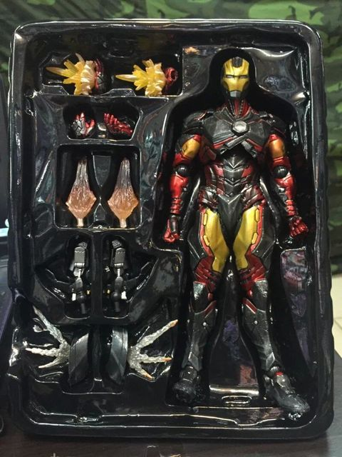 Фигурка Железный человек Тони Старк 27 см 5