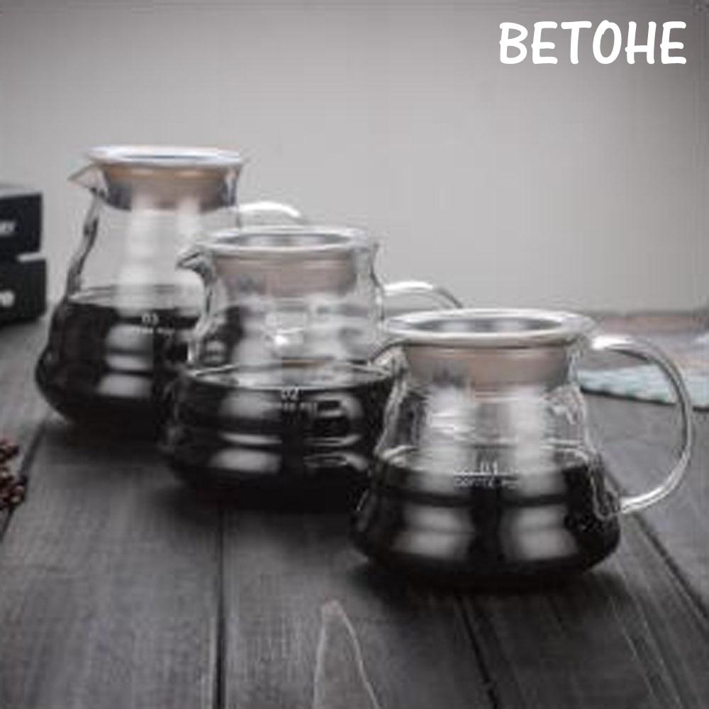 Coffee Pot Teapots Drip Kettle Pot Drinkware Glass Water Bottle Tea Pot Kettle Glass Jar With Handle With Lid Coffee Tea Tools glass bottle