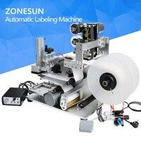 ZONESUN LT 60D Semi Automatic Labeling Machine Drugs Bottle Labeling Machine Medicine Bottle Labeling Machine With