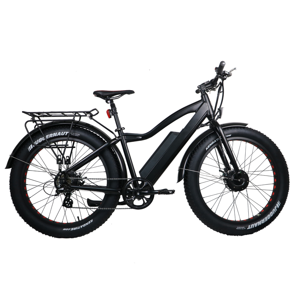 Electric Fat Bike >> Us 1699 0 New Ebike 2wd Electric Fat Bike 48v 11ah Lithium Battery Electric Snow Bike Electric Mountain Bicycle Cycling In Electric Bicycle From