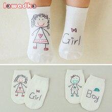 Асимметрия противоскользящие коллекция малышей новая девочки новорожденных симпатичные мальчики весна носки