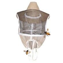 Улей Ковбой шляпа Москитная пчелы, насекомые сетки вуаль голова защита для лица пчеловод оборудования защитные аксессуары для сада
