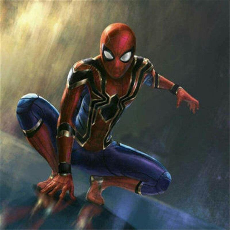 Высокое качество Человек-паук косплей костюмы супергерой Zentai Железный Человек-паук Боди Комбинезоны модные бальные костюмы для вечерние