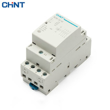 CHINT Household Small-sized Single-phase Communication Contactor NCH8-20/40 220V Guide Type Four Normally Open 4P 20A