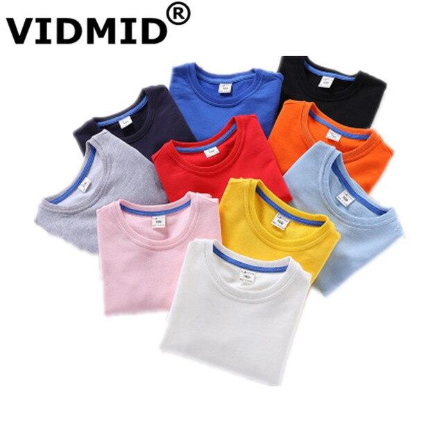 VIDMID Bé Trai cotton trẻ em hoodies cô gái chlid Quần Áo Trẻ Em sweatershirts hoodies áo len Trẻ Em áo quần áo của 7060 01